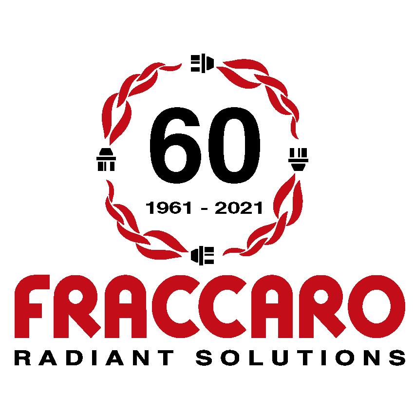 logo sessantesimo anniversario fondazione officine termotecniche fraccaro