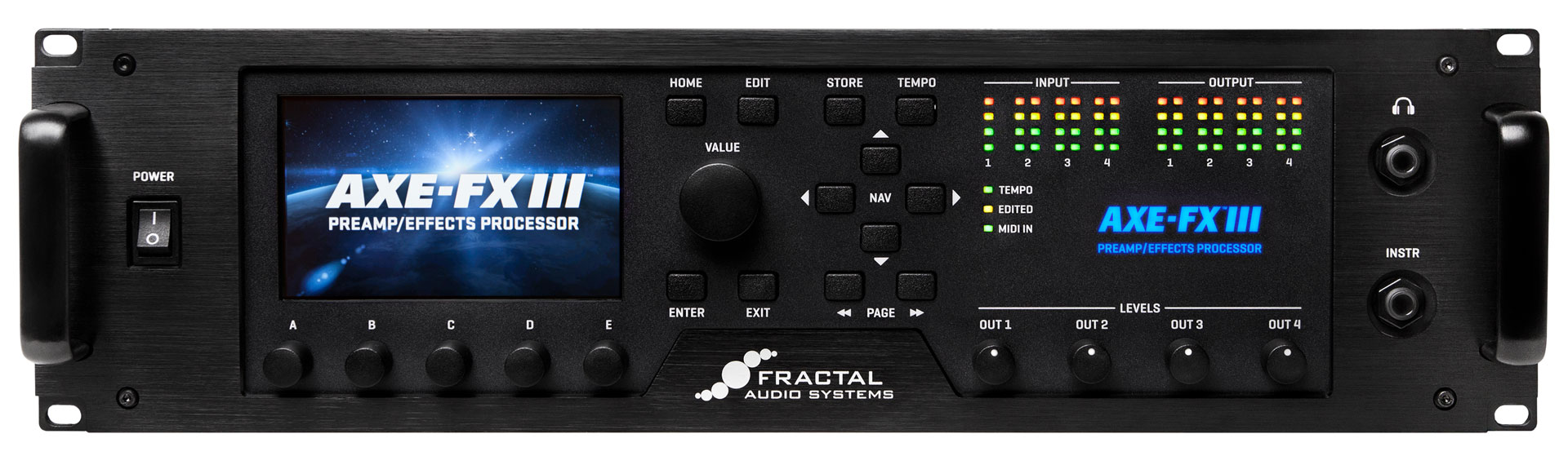 hight resolution of axe fx iii front panel
