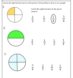 Fraction Worksheets [ 1104 x 800 Pixel ]