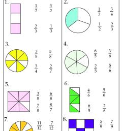 Fraction Worksheets [ 1104 x 800 Pixel ]