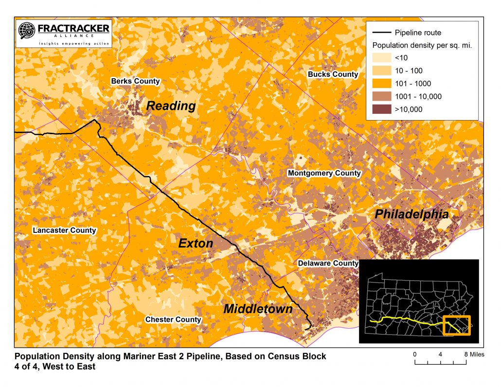 Population Density Maps Lessons On Where Not To Put A Pipeline Me2