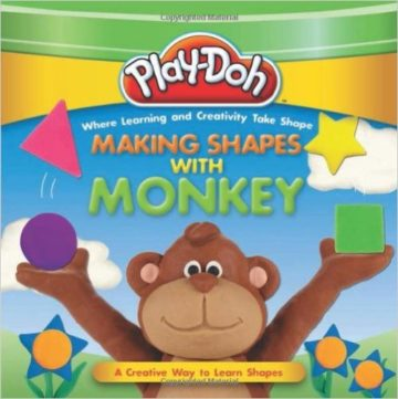 Play Doh: Making Shapes With Monkey