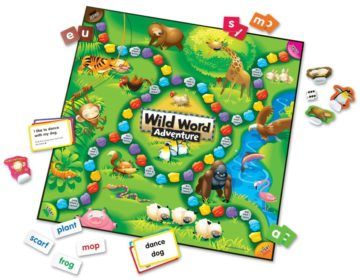 Learning Resources Wild Word Adventure Early Language Game - educational games