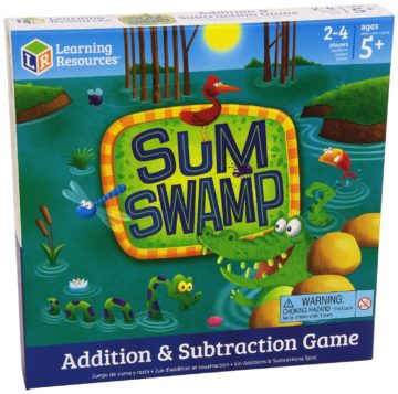 Learning Resources Sum Swamp Game - educational games