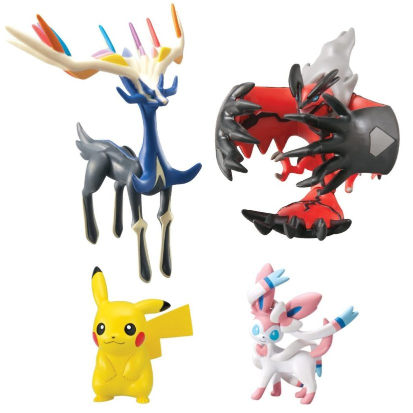 Pokémon Super Action Figure 4 Pack