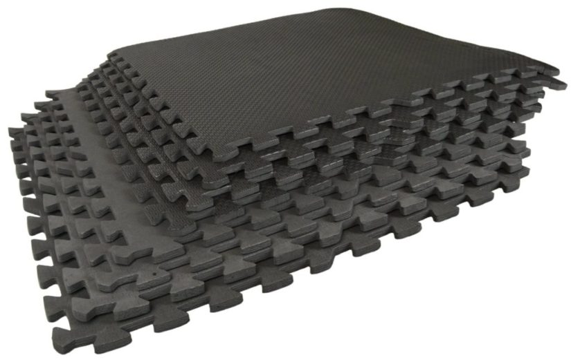 Best Step Interlocking Anti-Fatigue Flooring Tiles - yoga for kids