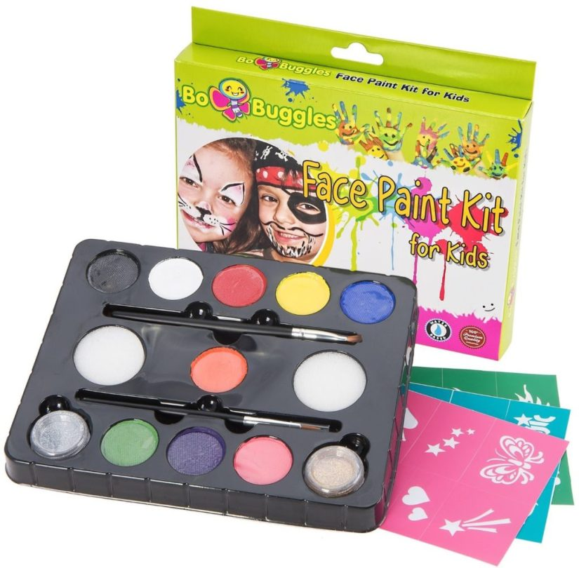 Face Paint Kit For Kids By Bo Buggles