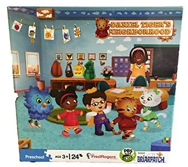 Daniel Tiger's Neighborhood School 24 Piece Preschool Puzzle - jigsaw puzzles
