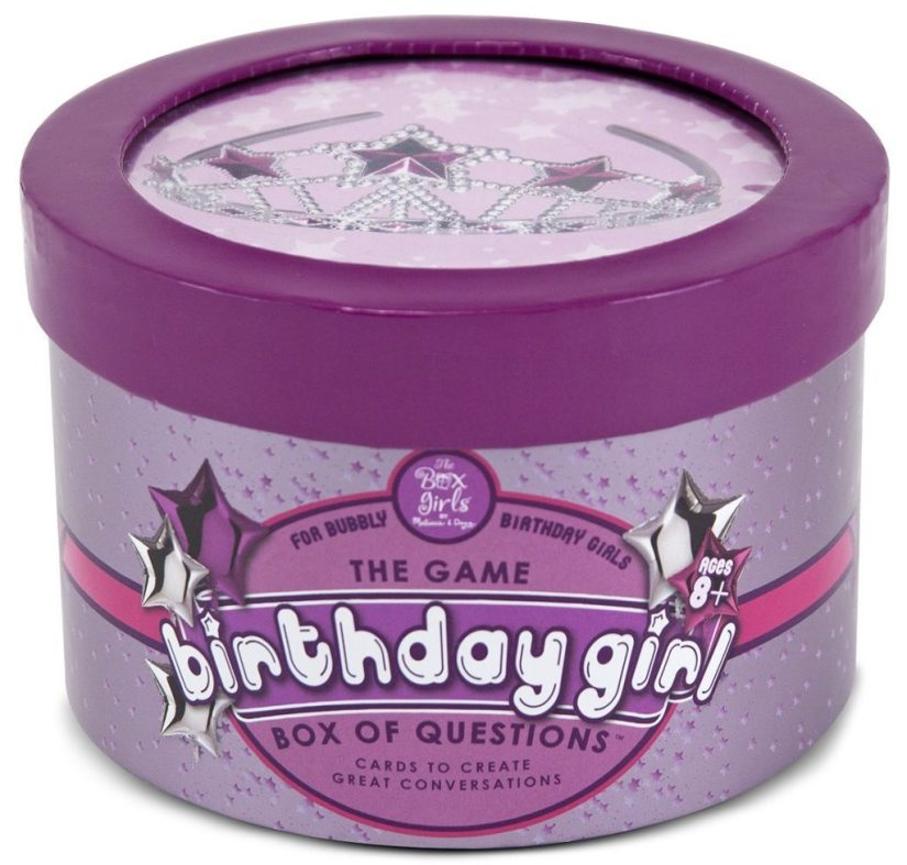 Melissa & Doug Birthday Girl Box Of Questions - games for girls