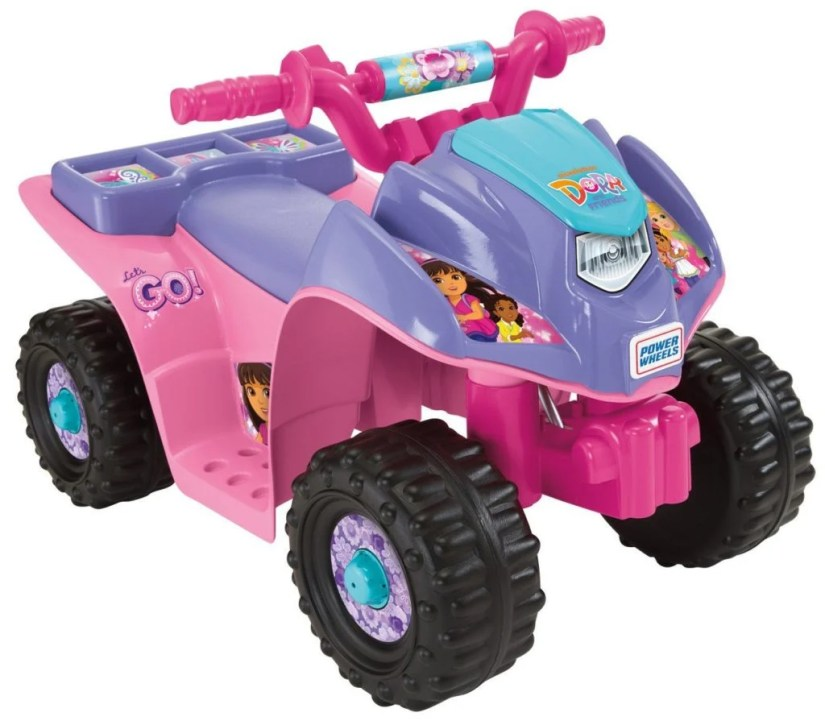 Power Wheels Nickelodeon Dora & Friends Lil Quad - dora the explorer