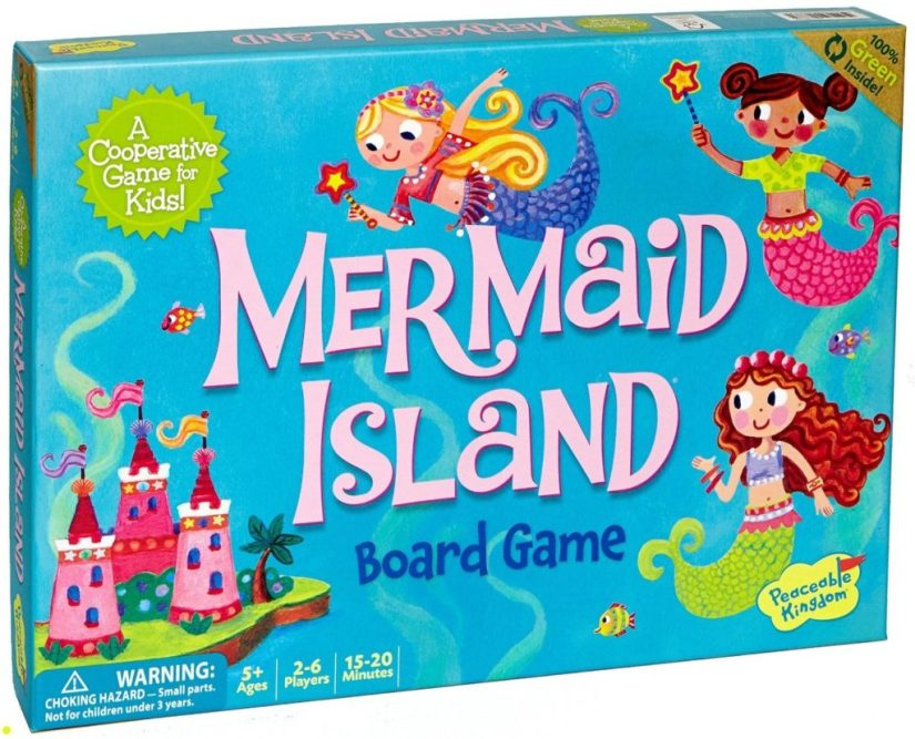 Peaceable Kingdom Mermaid Island - games for girls
