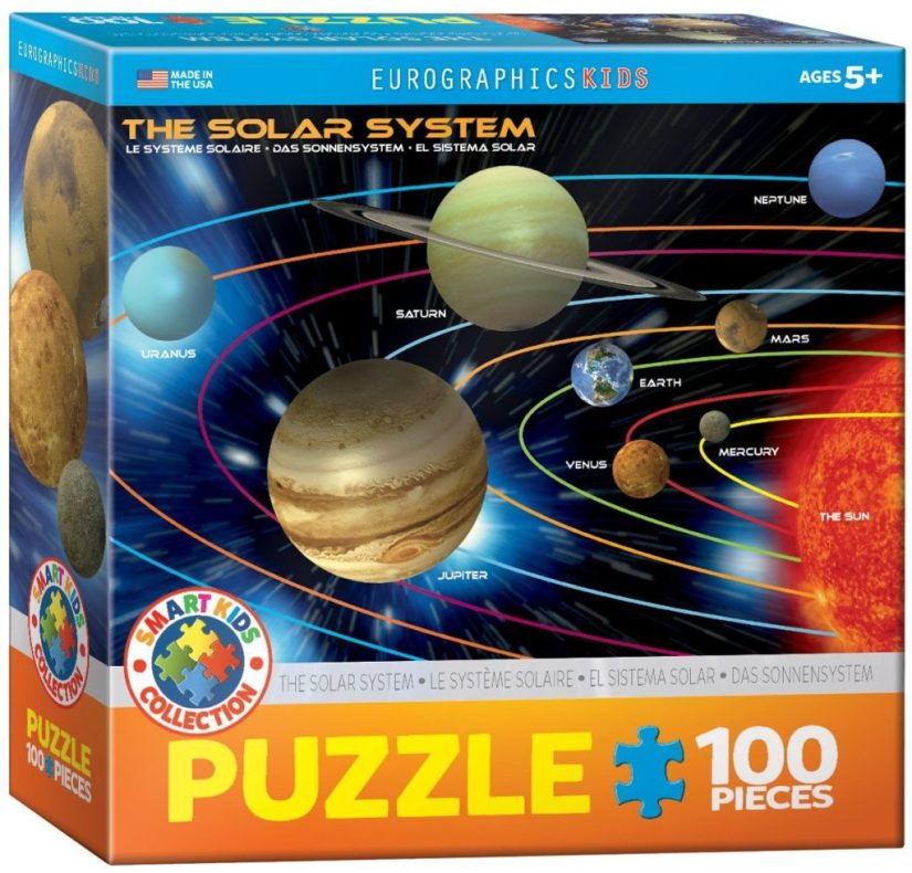 The Solar System 100 Piece Jigsaw Puzzle - jigsaw puzzles