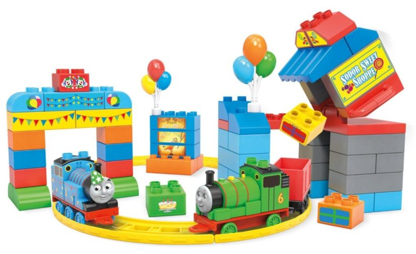 Mega Bloks Thomas & Friends Happy Birthday Thomas! Building Set - thomas the train