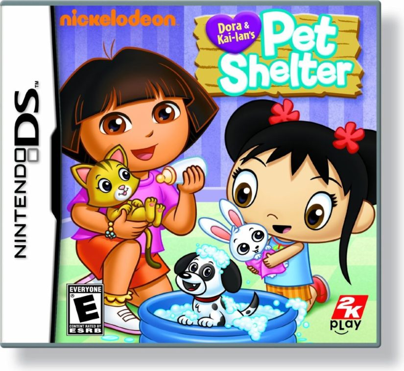 Dora and Kai-Lan's Pet Shelter - Nintendo DS - dora the explorer