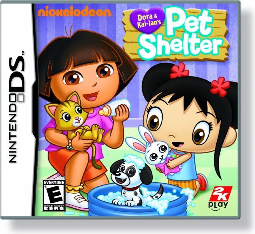 Dora and Kai-Lan's Pet Shelter - Nintendo DS - dora the explorer