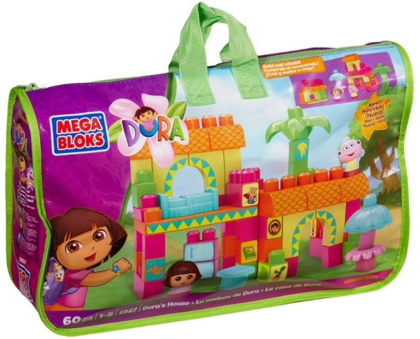 Mega Bloks Dora's House - dora the explorer