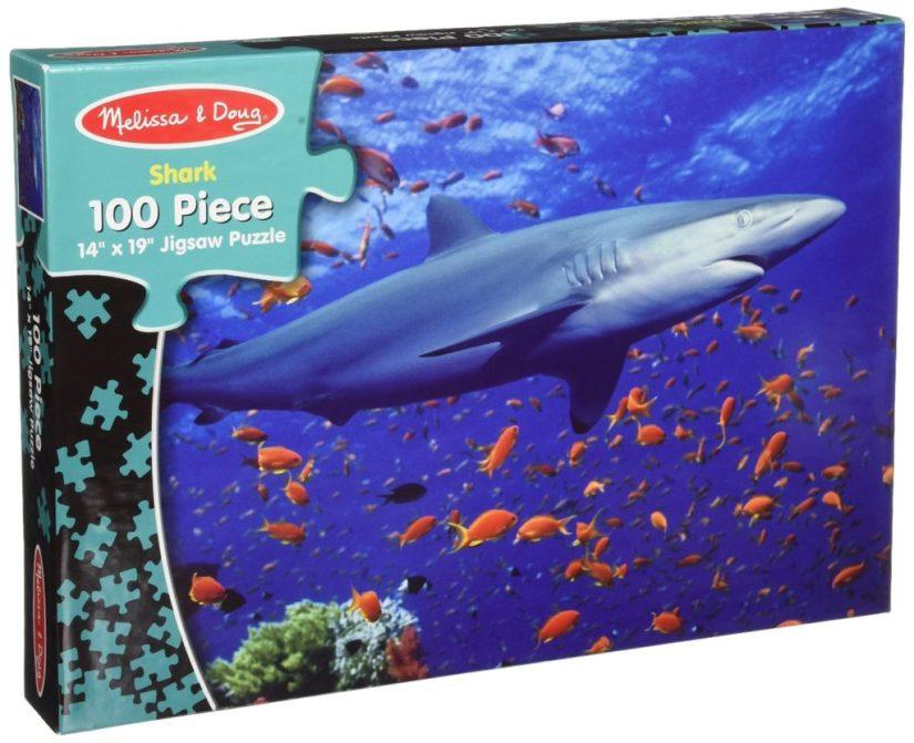 Melissa & Doug Shark Jigsaw Puzzles