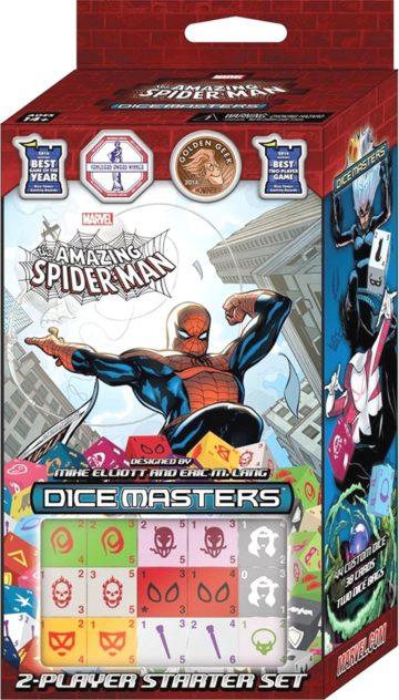 Marvel Dice Masters 2-Player Spiderman Starter Set