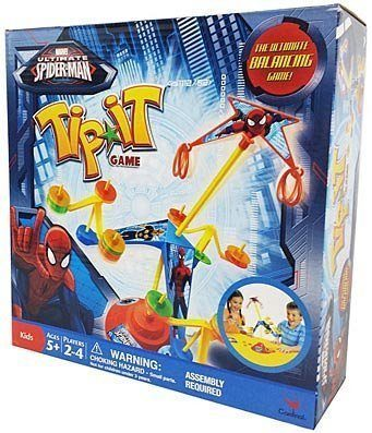 Ultimate Spiderman Tip It Game