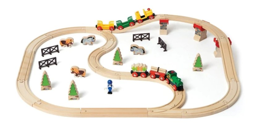 Country Railway Set (50 pieces)