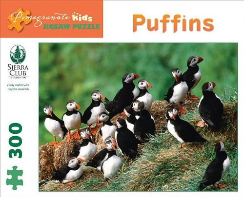 Sierra Club - Puffins: 300 Piece Puzzle - jigsaw puzzles