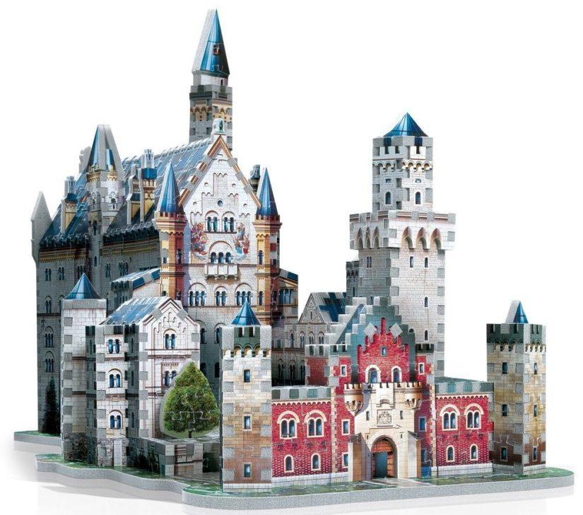 Neuschwanstein Castle 3D Jigsaw Puzzle - jigsaw puzzles