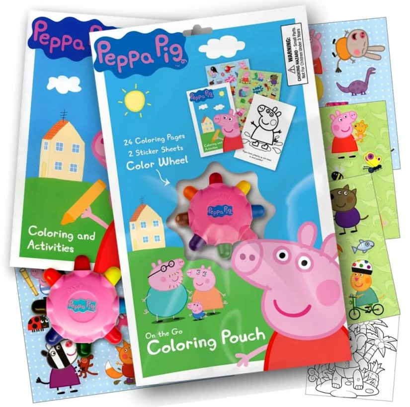peppa-pig-on-the-go-coloring-pouch-activity-set