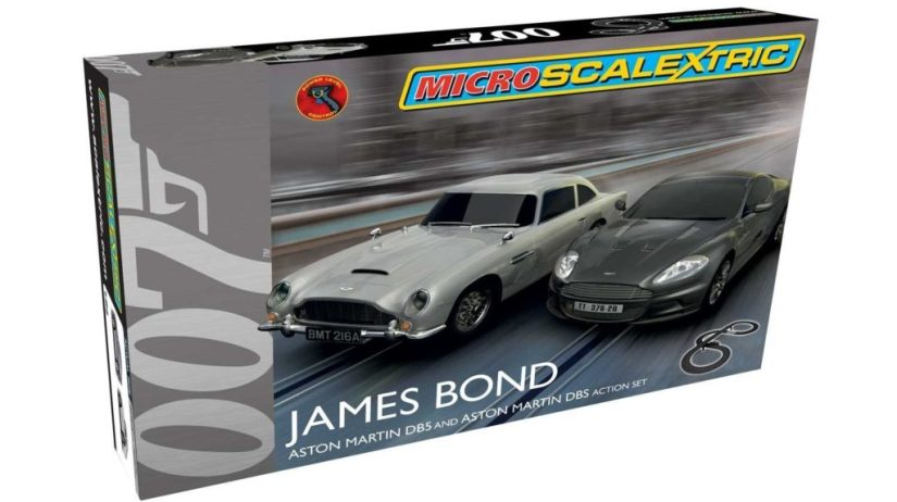 Micro Scalextric James Bond
