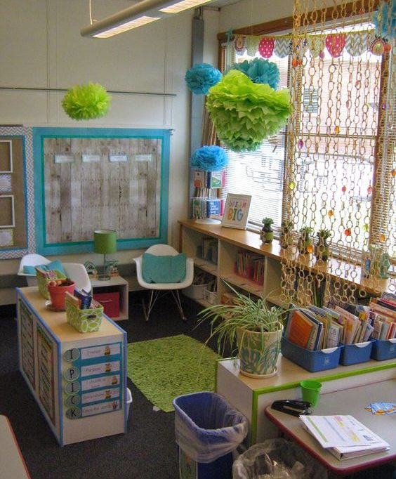 Learning centers in preschool provide the tools for learning.
