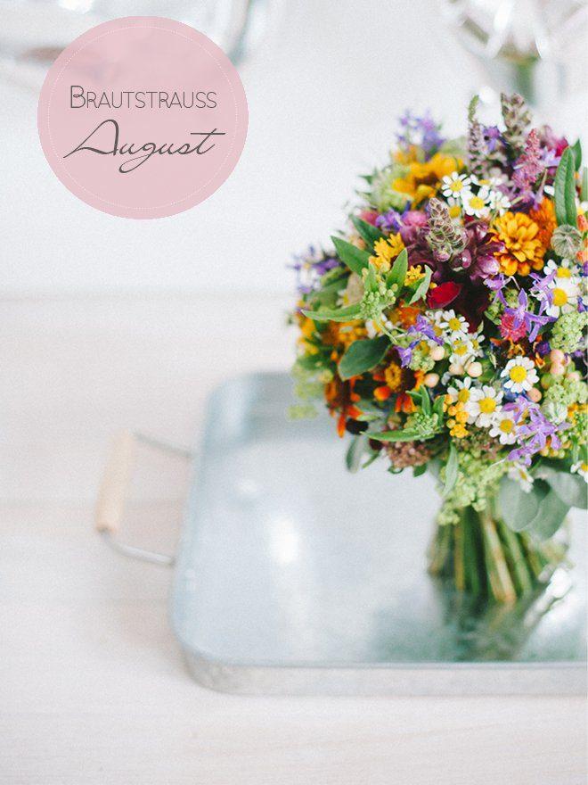Brautstraugalerie August Alle Farben des Sommers