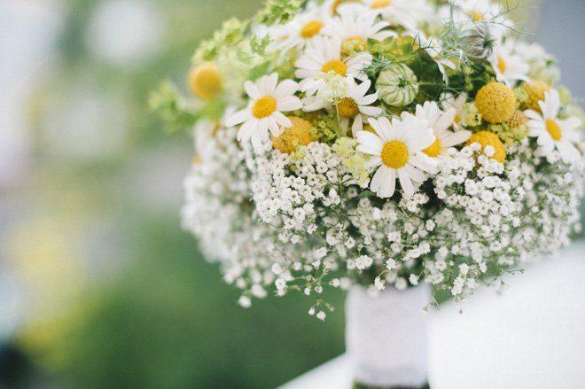 Brautstrau des Monats Ein frhlicher Sommerstrau