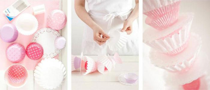 DIY Girlande aus Muffin Frmchen  Frulein K Sagt Ja Hochzeitsblog
