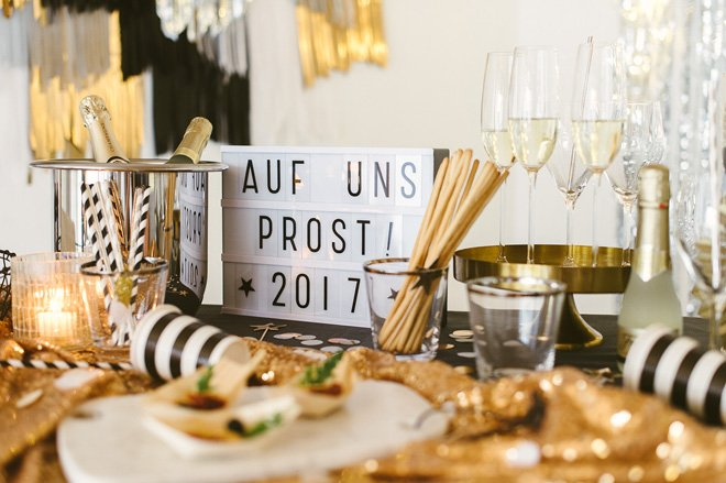 Deko und Stylingideen fr Eure Silvesterparty  Frulein K Sagt Ja Hochzeitsblog