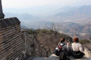 China Urlaub Erfahrungen Peking Chinesische Mauer oder die 1001 Treppe