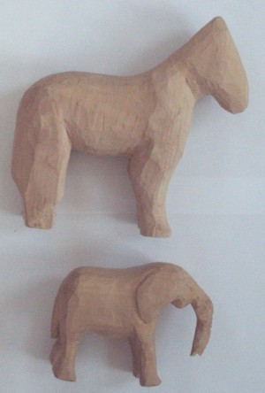 Anleitung schnitzen mit Holz Holzfiguren