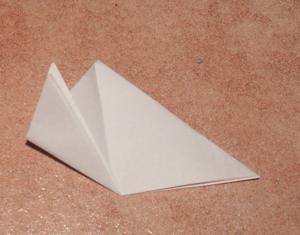 Schneeglckchen basteln Anleitung falten Papier