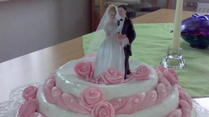 Rezept Hochzeitstorte  selbst gemacht  Frag Mutti