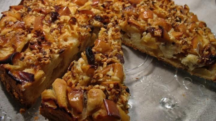 Rezept Apfeltorte mit Nuss oder Mandelkruste  Frag Mutti