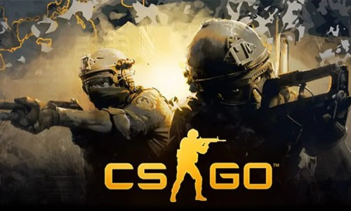Counter Strike Global Offensive Shooting Video Game Cover