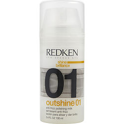 REDKEN by Redken OUTSHINE 01 ANTI-FRIZZ POLISHING MILK 3.4 OZ (PACKAGING MAY VARY) for UNISEX