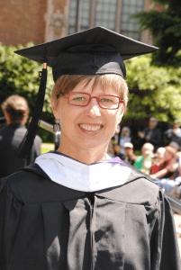 Annette Frahm, UW graduation 2013
