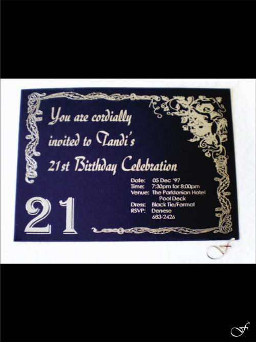 birthdays invitations by fralenco
