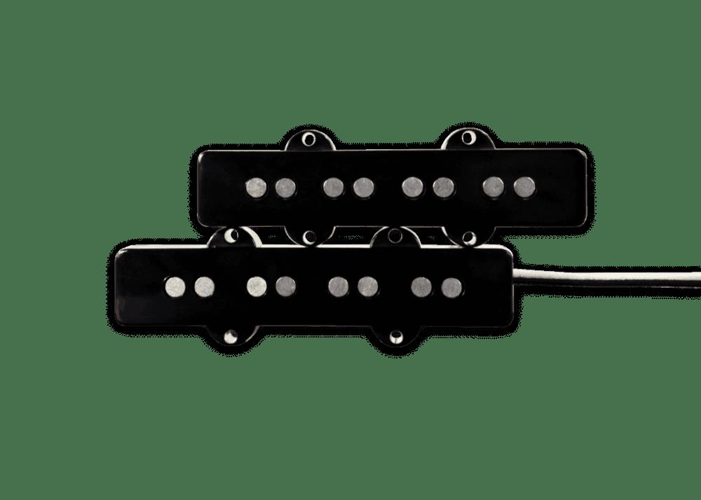 medium resolution of fralin pickups j bass black