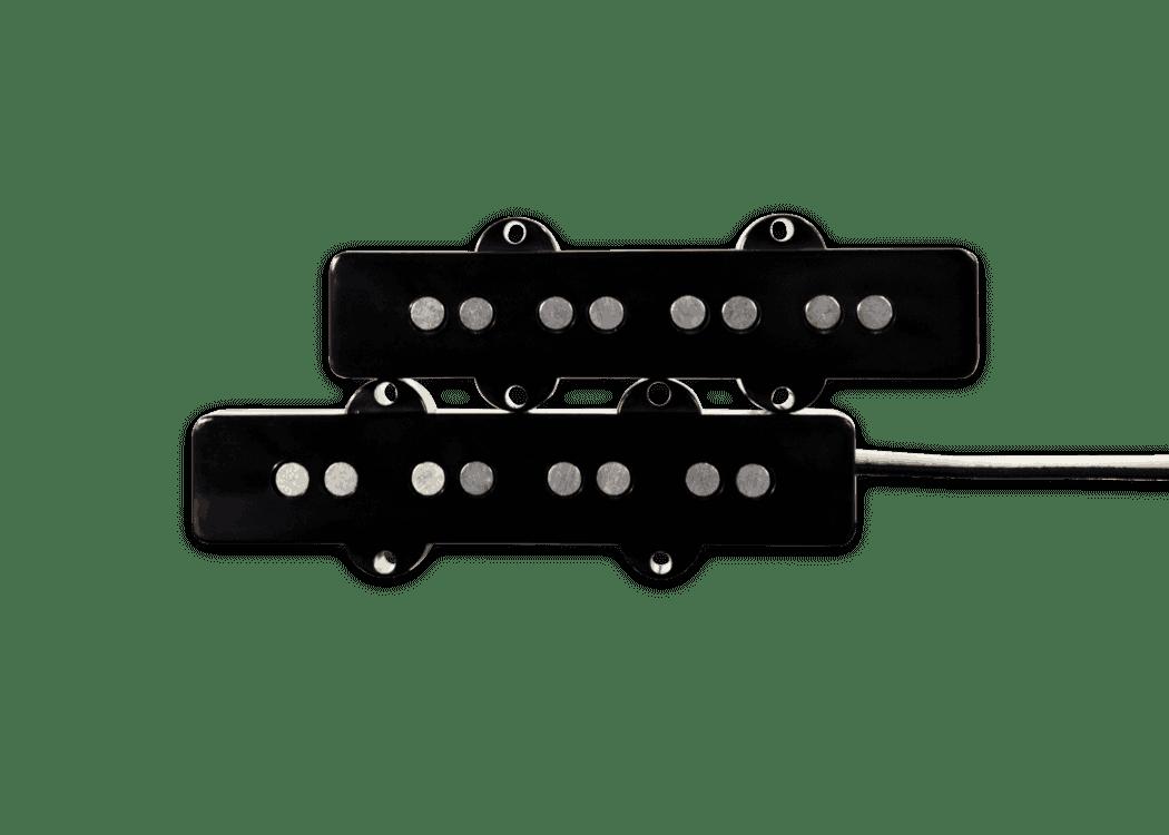 hight resolution of fralin pickups j bass black