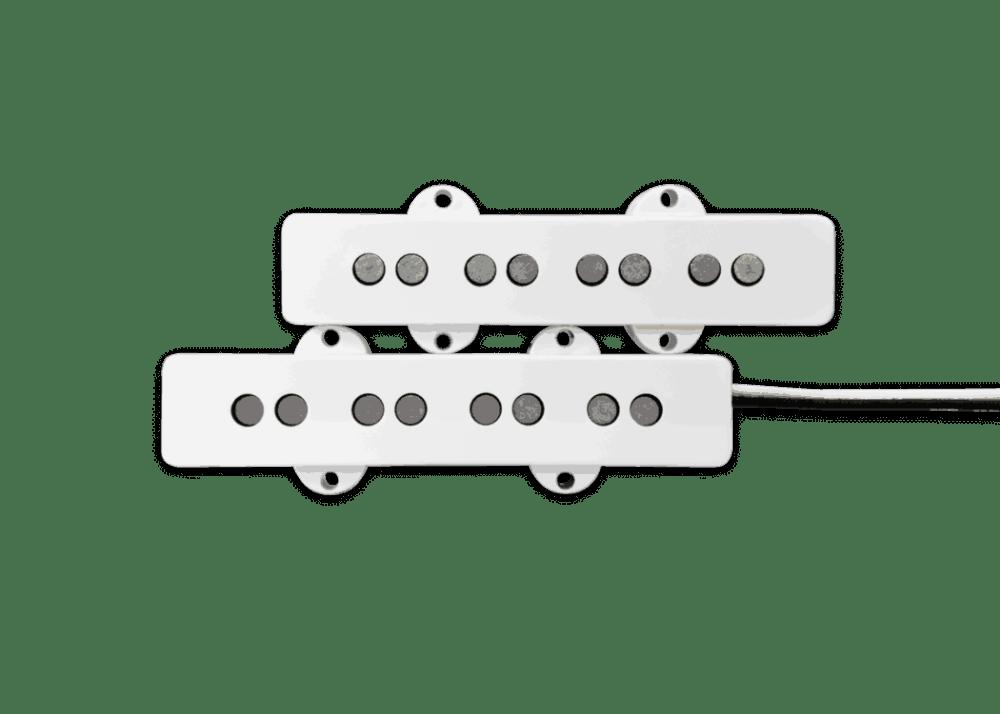 medium resolution of fralin pickups j bass white