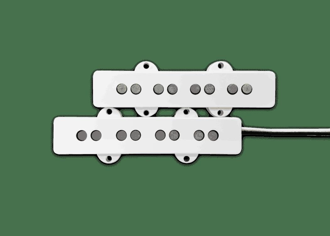 hight resolution of fralin pickups j bass white