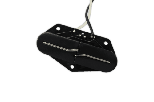 small resolution of fralin pickups split blade telecaster bridge black