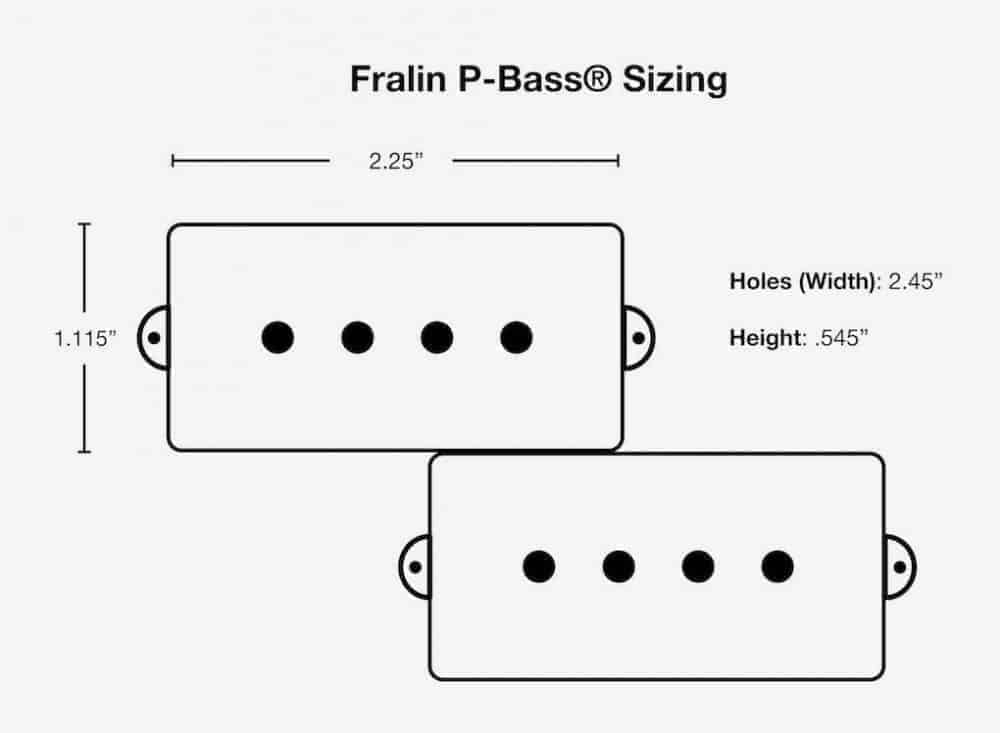 Lindy Fralin P-Bass Pickups: Hand-Wound, Boutique P-Bass
