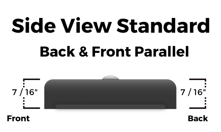 Dogear Standard Side View