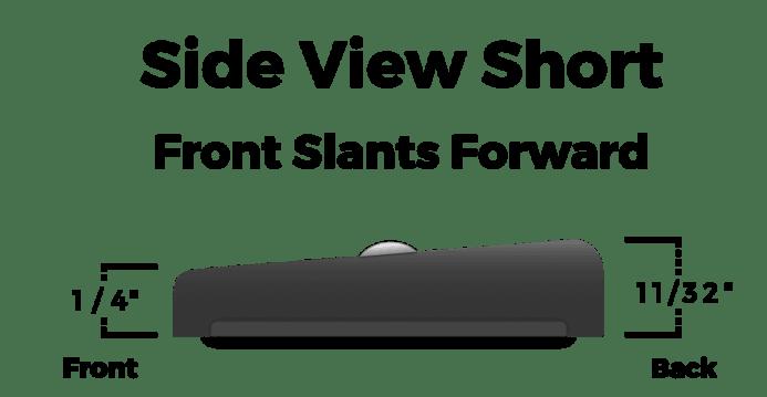 Fralin Pickups Short Dogear Side View